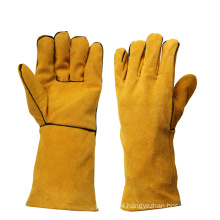 Heavy Duty Heat Resistant Hand Proctection Welding Gloves for Welders